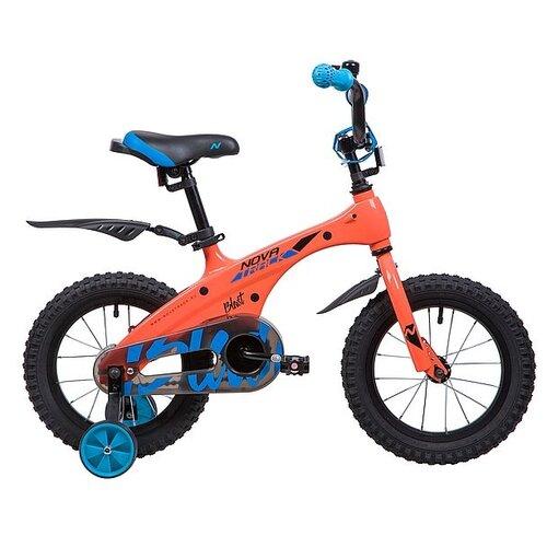 Детский велосипед Novatrack Blast 14 (2019) оранжевый (требует финальной сборки) детский велосипед novatrack vector 18 2019 серебристый требует финальной сборки
