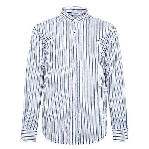 Рубашка Antony Morato размер 140, синий/белый рубашка antony morato mmsl00401 fa430296 7051