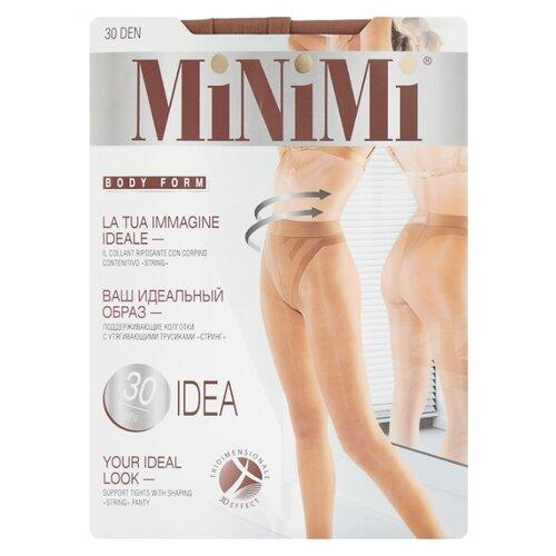 Колготки MiNiMi Idea 30 den, размер 3-M, daino (бежевый) колготки minimi idea 30 den размер 4 l daino бежевый