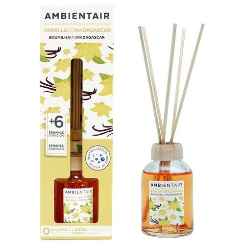 Ambientair диффузор Мадагаскарская ваниль 50 мл. свеча ароматическая ambientair мадагаскарская ваниль 10 10 см
