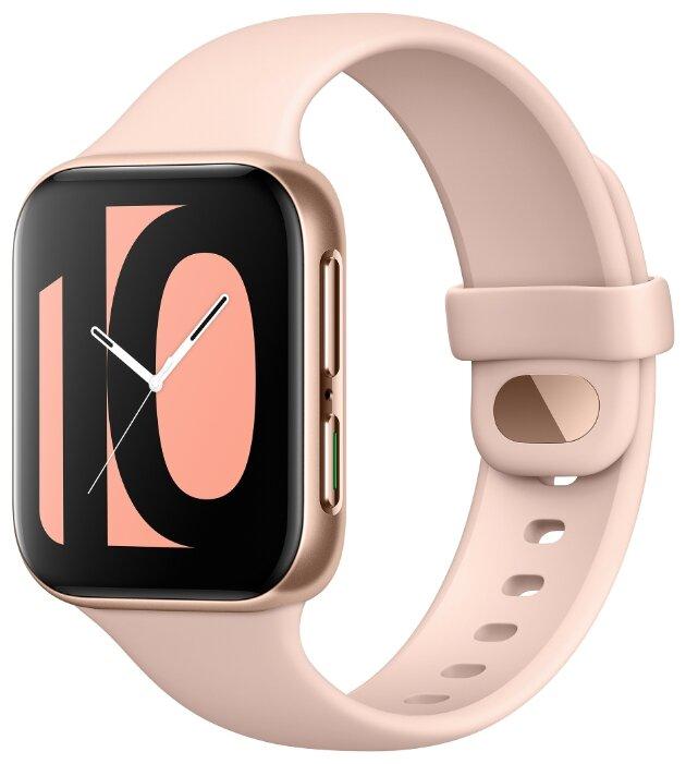 Купить Умные часы c GPS OPPO Watch 41 mm rose gold по низкой цене с доставкой из Яндекс.Маркета