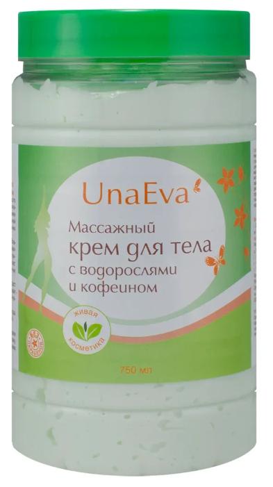 Unaeva крем массажный для тела с водорослями