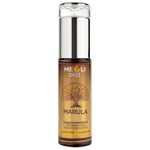 Meoli Эликсир с маслом Марулы для роста волос и восстановления сухих кончиков, 60 мл со эликсир купить