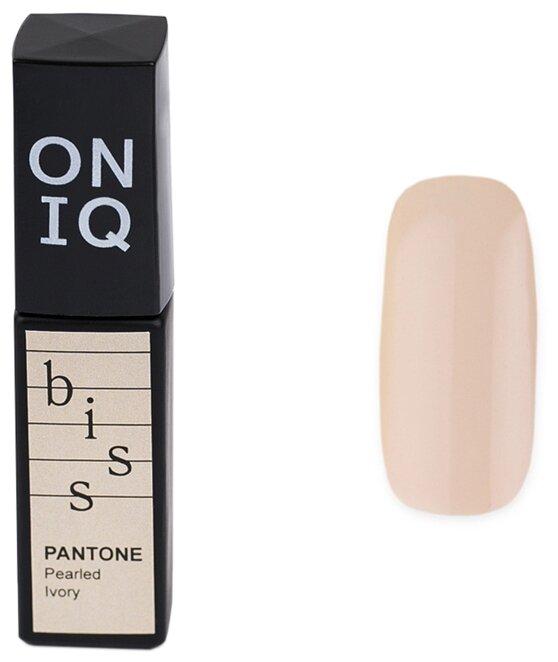 Купить Гель-лак для ногтей ONIQ Pantone, 6 мл, оттенок 008S Pearled Ivory по низкой цене с доставкой из Яндекс.Маркета (бывший Беру)