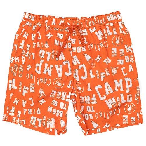 Купить Шорты для плавания Button Blue размер 152-158, оранжевый, Белье и пляжная мода