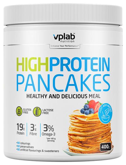 Vplab смесь для выпечки блинов High Protein