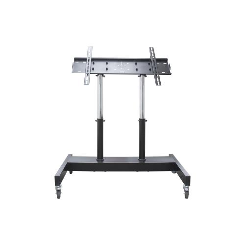 Фото - Стойка ElectricLight МСТ-8 черный/хромированный стол письменный мастер милан 3 глянец дуб молочный серый мст сдм 03 мс гл