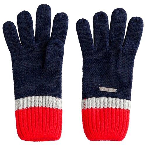 Купить Перчатки 22005BMC7603 Gulliver Baby, синий, размер 12, Царапки и варежки