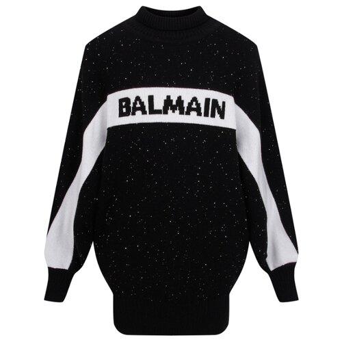Купить Платье Balmain размер 164, черный, Платья и сарафаны