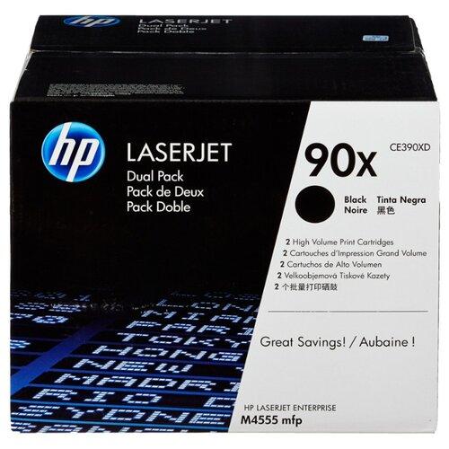 Фото - Картридж лазерный HP 90X CE390XD для LJ M602/M603 (2шт/уп) картридж hp ce390a 90a для lj m4555mfp m601 m602 m603 10000стр