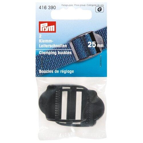 Купить Prym пряжка регулировочная с фиксатором 25мм (416390), черный (2 шт.), Фурнитура