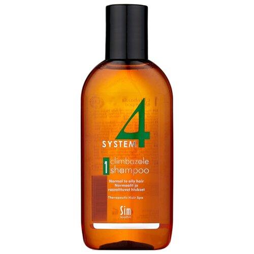 Sim Sensitive SYSTEM 4 Climbazole Shampoo 1 Терапевтический шампунь № 1 для нормальной и жирной кожи головы 100 мл