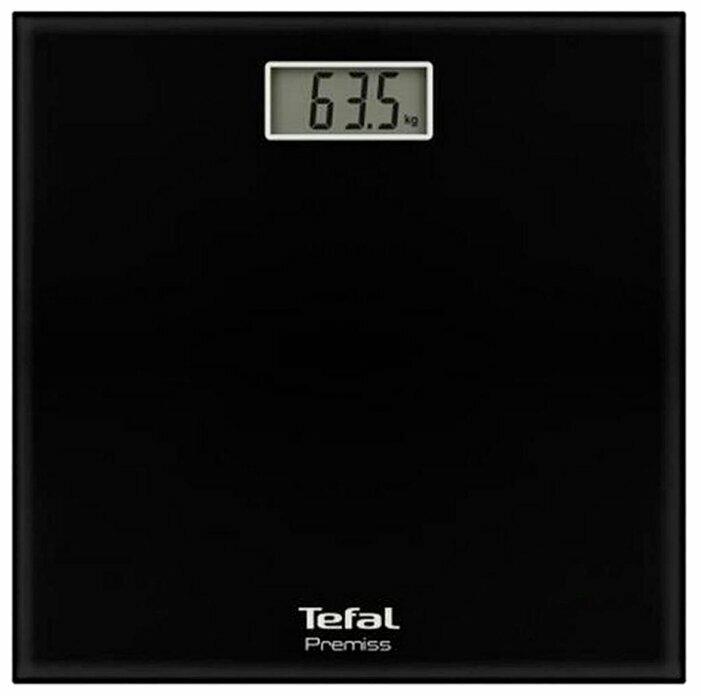 Весы Tefal Premiss PP1060 со стеклянной платформой, черные PP1060V0