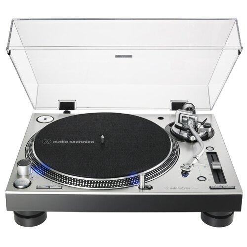 Виниловый проигрыватель Audio-Technica AT-LP140XP серебристый виниловый проигрыватель audio technica at lp120x usb black