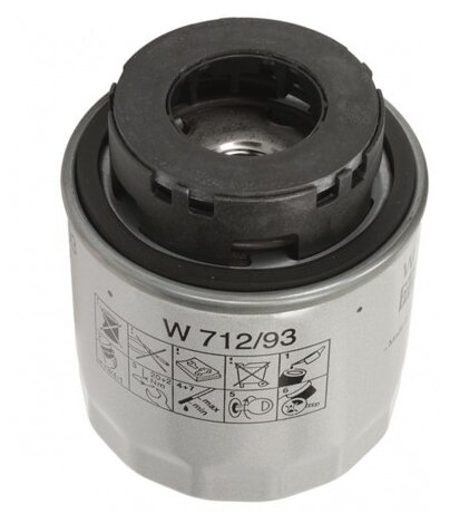 Масляный фильтр MANNFILTER W712/93