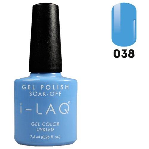 Гель-лак для ногтей I-LAQ Gel Color, 7.3 мл, оттенок 038 i laq гель лак 005