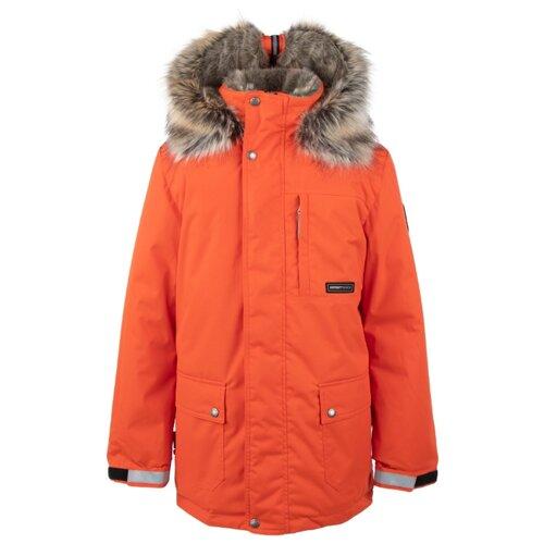 Купить Парка KERRY Jako K20468 размер 152, 455 оранжевый, Куртки и пуховики