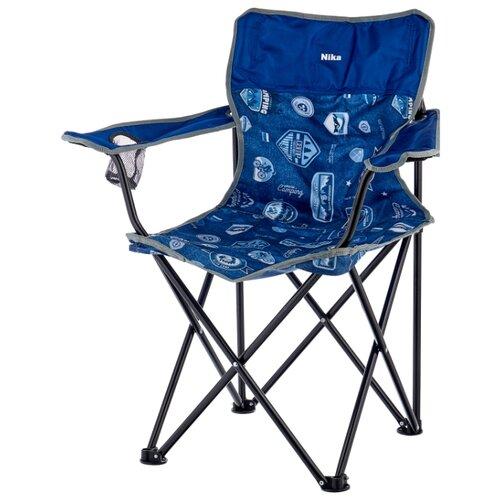 Кресло Nika Премиум 6 джинс/синий