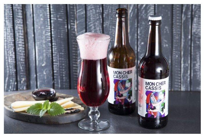 Пивной напиток ВкусВилл Mon Cher Cassis 0.5 л