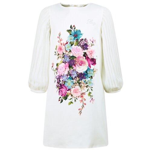 Платье Lesy размер 152, белый