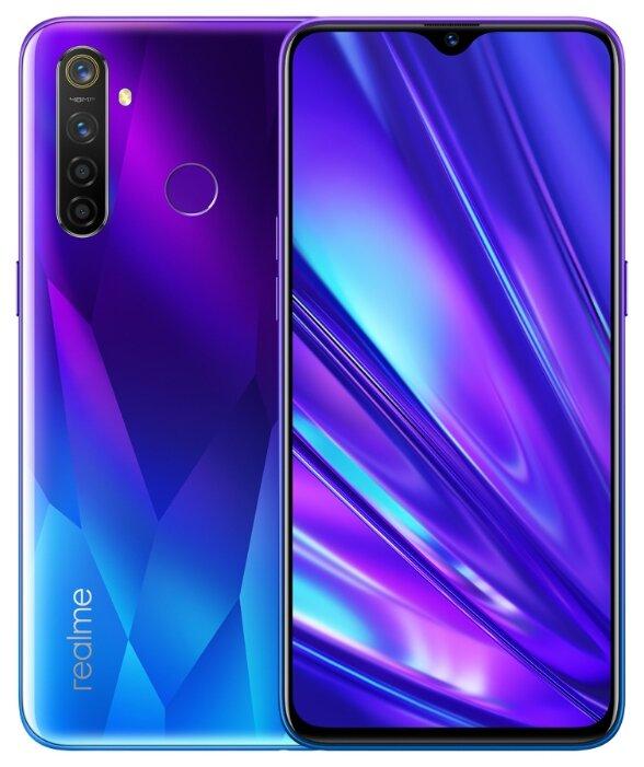 Смартфон Realme 5 Pro 128GB мерцающий синий