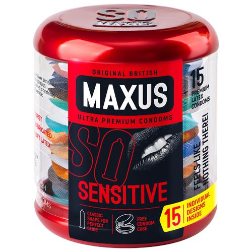 Презервативы Maxus Sensitive (15 шт.)