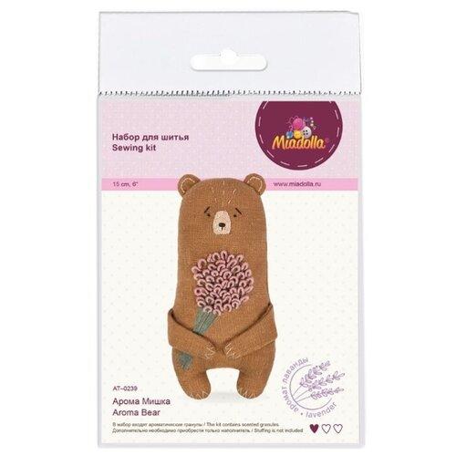 Miadolla Набор для шитья Арома Мишка (AT-0239), Изготовление кукол и игрушек  - купить со скидкой