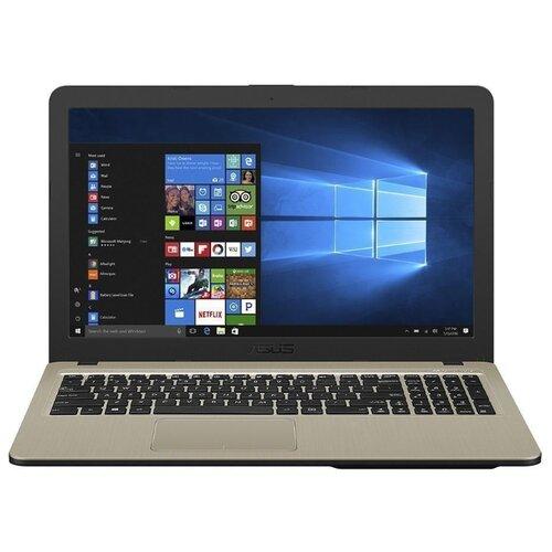 Купить Ноутбук ASUS VivoBook A540UB-DM1668T (Intel Core i3 7020U 2300MHz/15.6 /1920x1080/6GB/256GB SSD/DVD нет/NVIDIA GeForce MX110 2GB/Wi-Fi/Bluetooth/Windows 10 Home) 90NB0IM1-M24190 Gold IMR with Hairline
