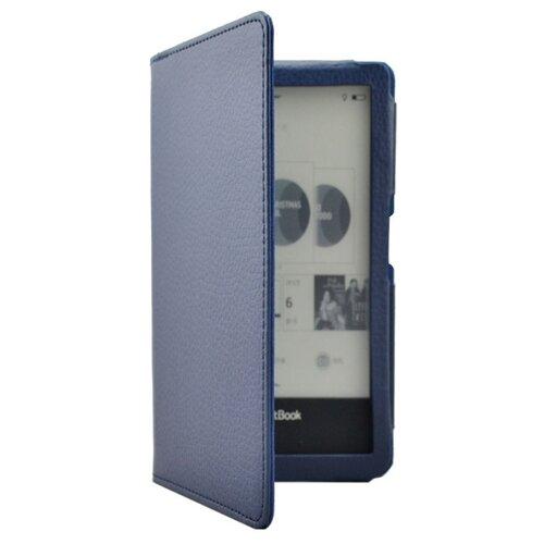 Чехол-обложка MyPads для PocketBook 650 Limited Edition / PocketBook 650 Ultra закрытого типа синий