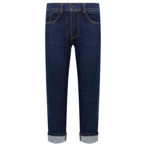 Джинсы KENZO размер 128, синий джинсы женские zarina цвет синий 8123414717103 размер 46