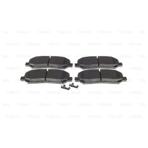 Фото - Дисковые тормозные колодки передние Bosch 0986494675 для Mazda CX-5 (4 шт.) дисковые тормозные колодки передние ferodo fdb4446 для mazda 3 mazda cx 3 4 шт