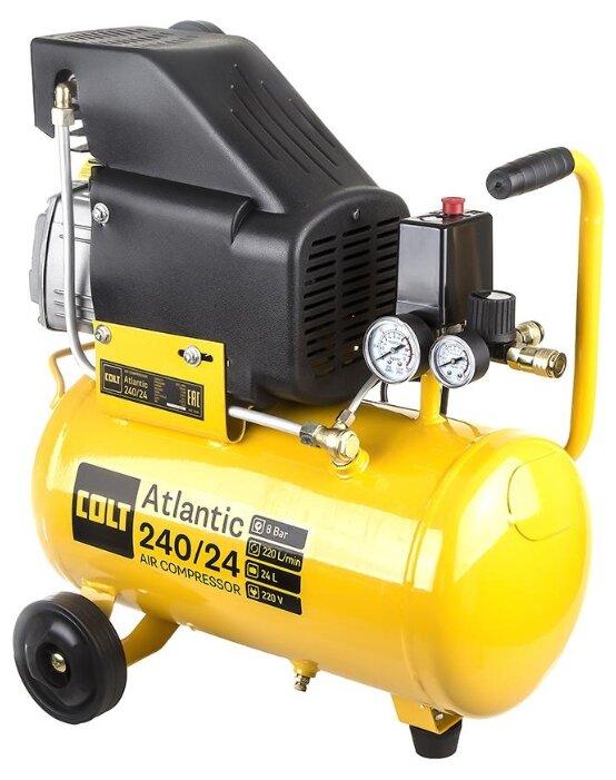 Компрессор масляный COLT Atlantic 240/24, 24 л, 1.5 кВт
