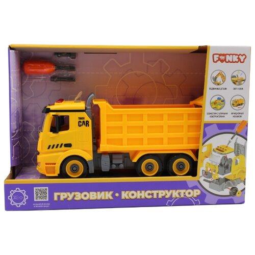 Купить Винтовой конструктор Funky Toys Грузовик FT61112, Конструкторы