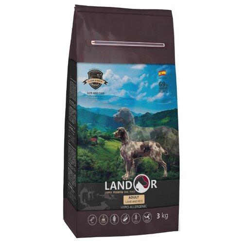 Сухой корм для собак Landor (3 кг) Adult Lamb with Rice с мясом ягненка 3 кг сухой корм для собак landor 3 кг adult lamb with rice с мясом ягненка 3 кг