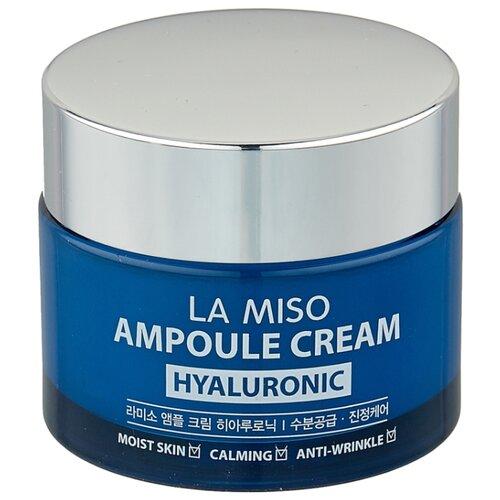 La Miso Ampoule Cream Hyaluronic Крем для лица с гиалуроновой кислотой, 50 г la miso ampoule cream hyaluronic крем для лица с гиалуроновой кислотой 50 г