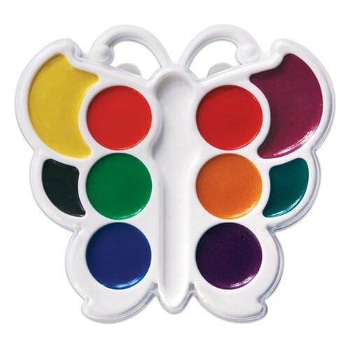 Купить Луч Краски акварельные фигурные Кроха Бабочка 10 цветов, без кисти (10С548-08)