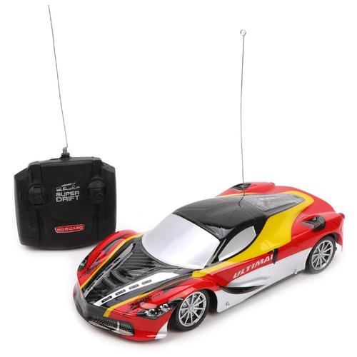 Купить Легковой автомобиль Jialin YE3276B 1:16 25 см серый/красный/черный, Радиоуправляемые игрушки
