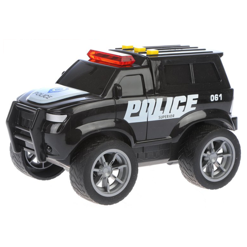 Внедорожник Yako Городские службы (M0271-3F) 18 см черный yako yako радиоуправляемая машина городские службы эвакуатор 1 20