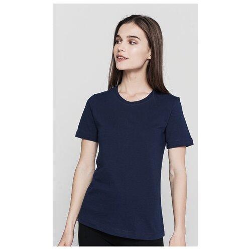 Футболка ТВОЕ 62733 размер XS, темно-синий футболка твое 68432 размер xs темно синий