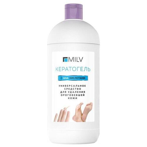 MILV Кератогель универсальный с АНА кислотами 1000 мл бутылка пилинг с ана кислотами