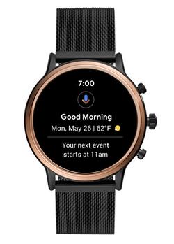 Умные часы FOSSIL Gen 5 Smartwatch Julianna HR (stainless steel mesh)