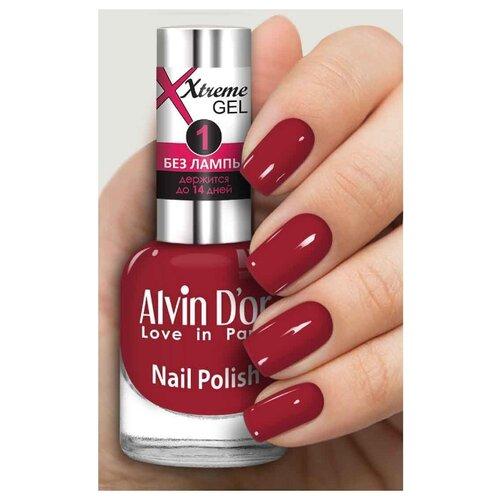 Лак Alvin D'or Extreme Gel, 15 мл, оттенок 5221 лак alvin d or extreme gel 15 мл оттенок 5227
