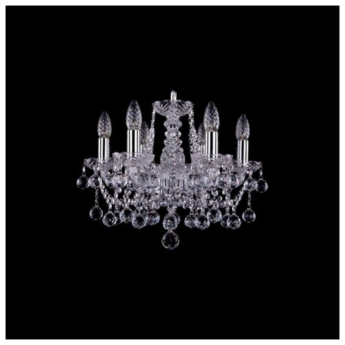 Люстра Bohemia Ivele Crystal 1413 1413/6/141/Ni/Balls, E14, 240 Вт люстра bohemia ivele crystal 1413 1413 6 141 g leafs e14 240 вт
