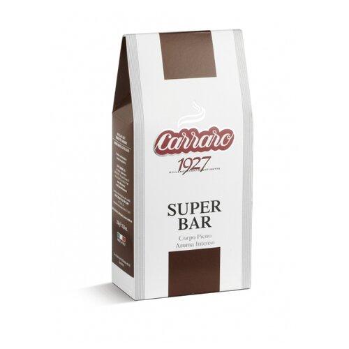 Фото - Кофе молотый Carraro Super Bar, 250 г кофе молотый carraro india 250 г