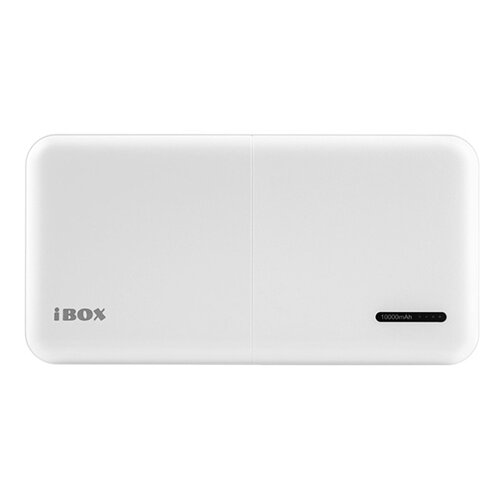 Аккумулятор iBOX PB-10000, 10000 mAh, белый аккумулятор