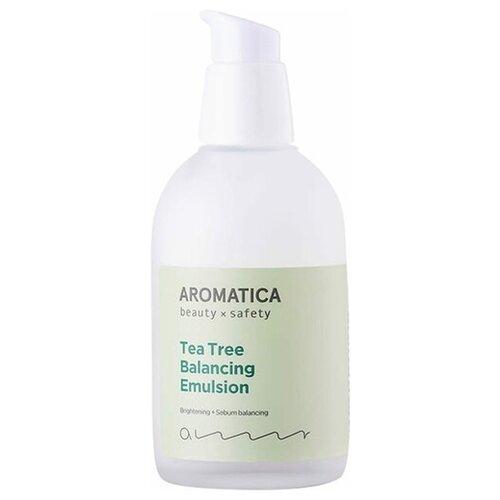 Aromatica Tea Tree Balancing Emulsion Эмульсия для жирной кожи лица с чайным деревом, 100 мл