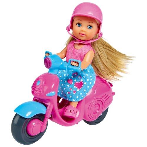 Купить Кукла Simba Еви на скутере, 12 см, 5733345, Куклы и пупсы