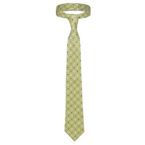 Галстук Signature Желтая стрела мятный/салатовый/темно-зеленый