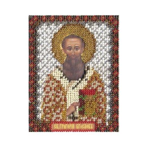 1212 PANNA Набор для вышивания бисером Икона Святителя Григория Богослова (CM-1212/ЦМ-1212)