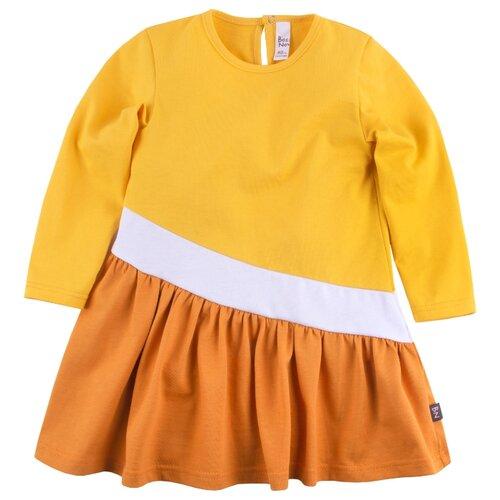 Платье Bossa Nova размер 92, желтый/оранжевый